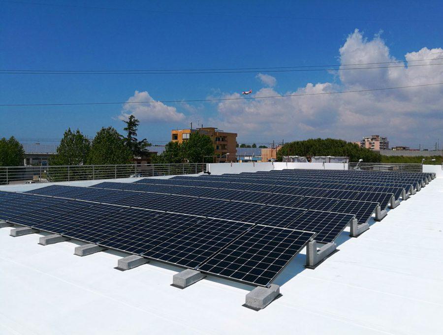 Fotovoltaico 40kwp - Casalnuovo di Napoli (NA)